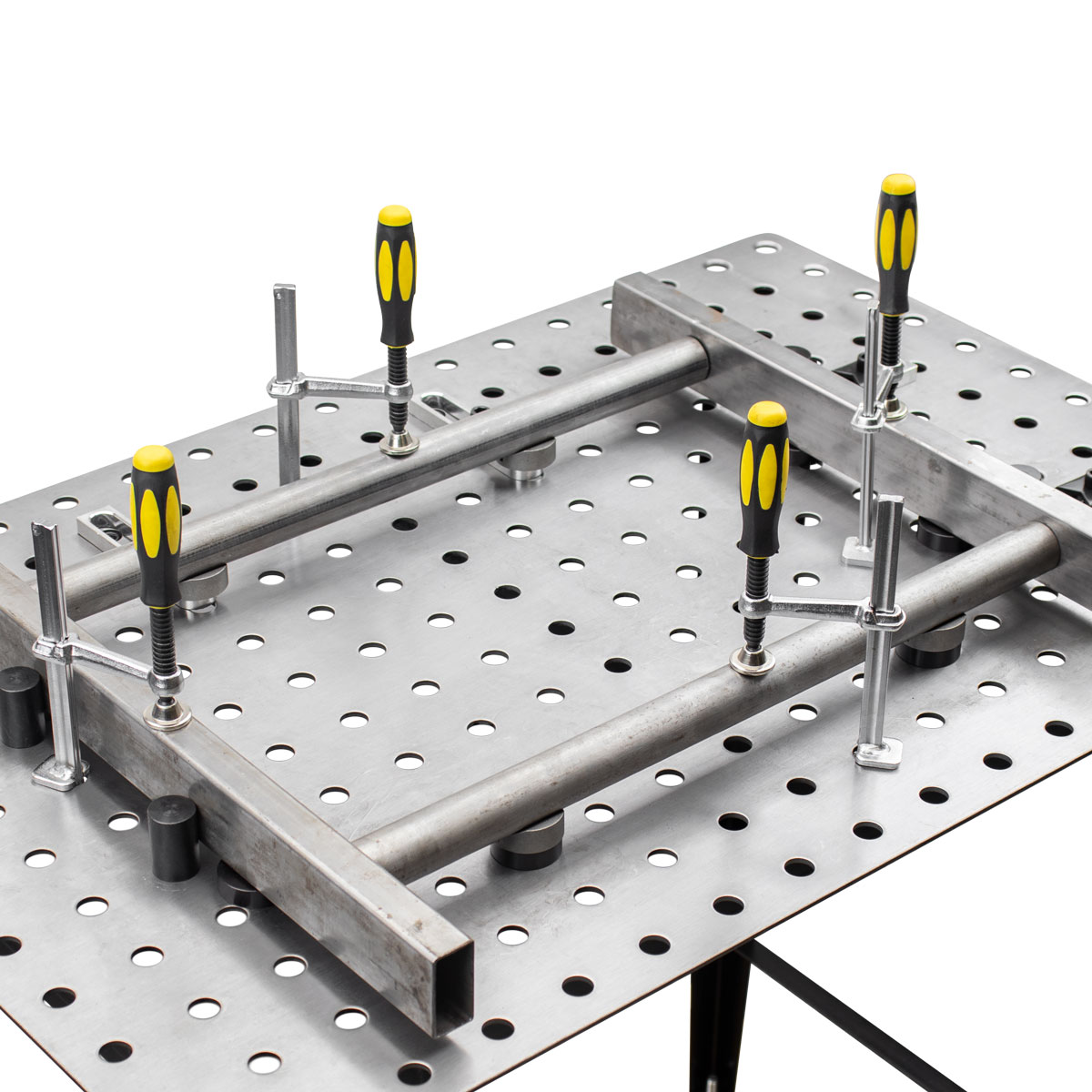 Square and Round Tubes Frame on fixturepoint table