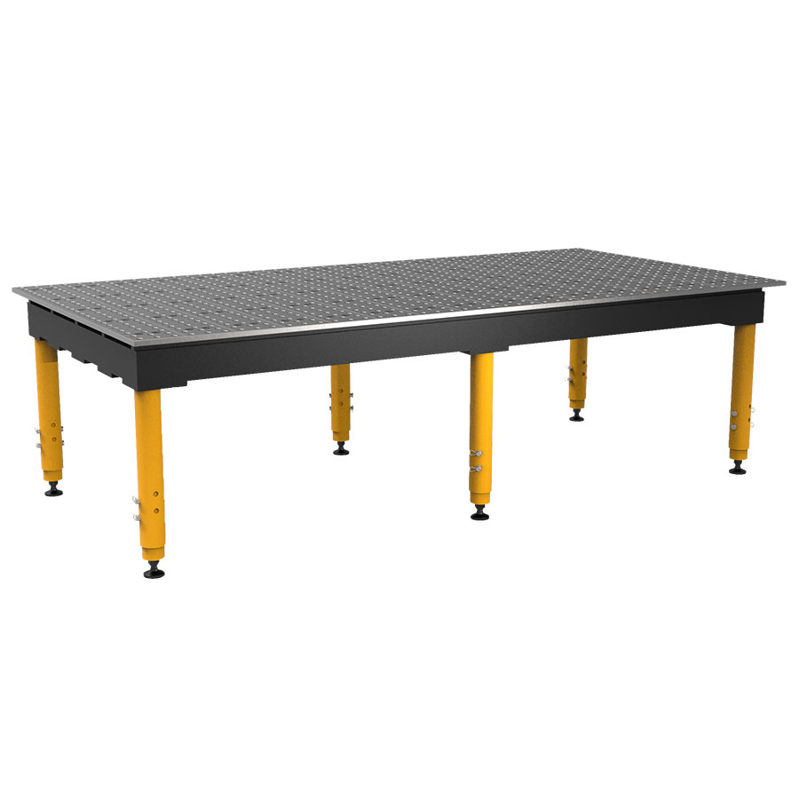 8 by 4 ft max table with adjustable legs
