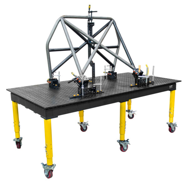 Roll cage fixture on max table
