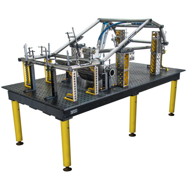 truck chassis fixture on max table